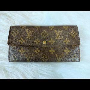 Louis Vuitton Bifold Wallet Portefeiulle Sarah